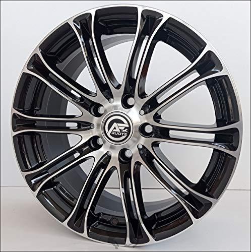 1 AC-MB1 Llantas de Aleación NAD 8 17 5X120 30 72,6 Compatible Con BMW Serie 3 4 5 6 X1 X3 X4 Negro Brillante Diamante
