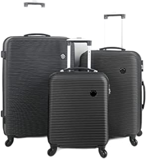 VOYAGGE 3 Piece Luggage Set, Spinner Wheel Luggage Carrier, Easy Portable, Travel, Adventure, Business Trip, Multipurpose...