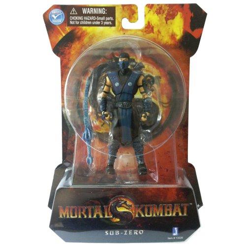 Mortal Kombat, Mortal Kombat 9 Action Figure, Sub-Zero, 4 Inches