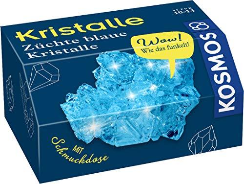 Kosmos 657932 Blaue Kristalle selbst züchten Experimentierset für Kinder, White