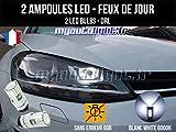 MyAutoLight - Pack feux de jour led blanc xenon pour Golf 7 avec Phares Bi-xénon
