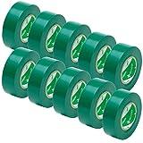 ビニールテープ 19mm×10m 10個入 VT193-10P 緑