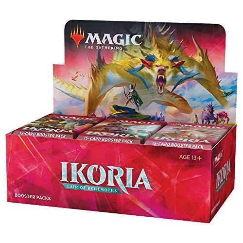 MTG マジック:ザ・ギャザリング イコリア:巨獣の棲処 ブースターパック(Ikoria: Lair of Behemoths Booster Box) 英語版 36パック入り (BOX)