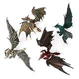Dabixx Modelo para niños, Flying Dinosaur Modelo Dragones Figura de Acción Juguetes Clásicos Niños M...