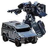 SSBH Manuell verformte Spielzeug-Roboter verformte Legierung Auto Man Modell for Kinder Erwachsene Kleinkinder Jungen Mädchen Geburtstag (Color : D)
