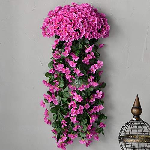 LGFV-Kunstplanten Bloemen Violet Bloem Wijnstok Sieraden, Geschikt voor Bouwen Buitenmuur Balkon Hek Decoratie