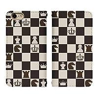 Xperia 1 II SOG01 ベルト無し 手帳型 スマホケース スマホカバー bn127(A) チェス ボードゲーム マインドスポーツ スマートフォン スマートホン 携帯 ケース 手帳 ダイアリー フリップ スマフォ カバー