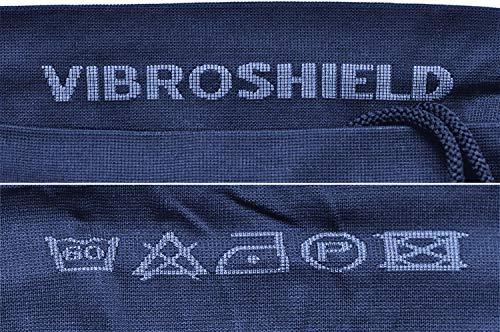 VibroShield Kompressionshose Herren | High End Compression | Funktionstight | Fitness Tight | Short Tight | Kompressionshorts | 18 Stoffstrukturen in 2-lagigem Funktionsgewebe + Kordel (blau, S) - 7