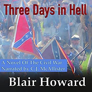 Three Days in Hell audiobook cover art
