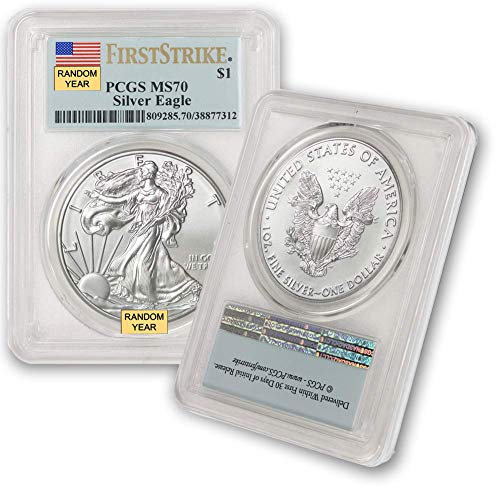 2006 - Present Silver American Eagle MS-70 (First Strike) PCGS by CoinFolio $1 MS70 PCGS