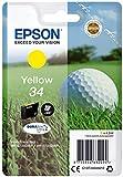 Epson Tintenpatrone Yellow 344.2ml gelb Tintenpatrone–Tintenpatrone für Drucker (Epson, gelb, WorkForce Pro wf-3725dwf, WorkForce Pro wf-3720dwf, Standard, 4,2ml