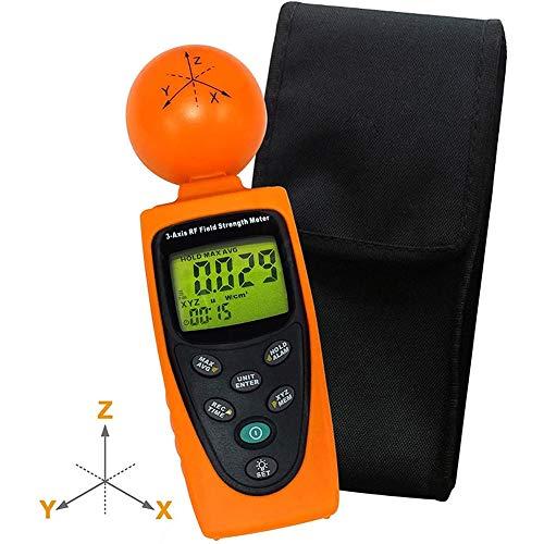 Cestbon Triple numérique de Poche Axis 50 MHz ~ 3,5 GHz RF Champ magnétique CEM rayonnement électrosmog Détecteur testeur,Orange