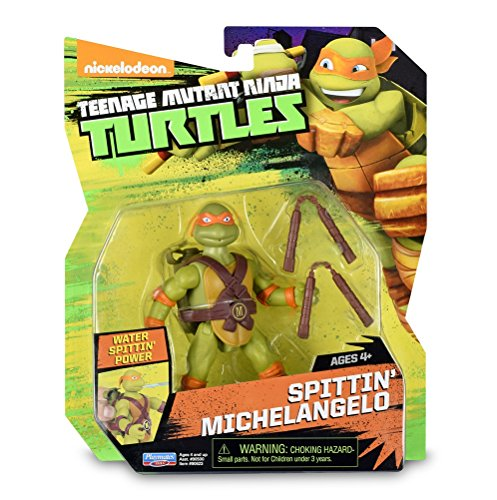 TORTUGAS NINJA - Animation Blister - Spitting Michelangelo