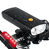 Best Bicycle Lights 5000 Lumens Rechargeables - funsport 1000 Lumens USB Rechargeable Bike Light Review