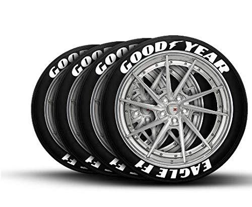 LK Performance Original Gummi erhöhte Good Year Goodyear Reifen Aufkleber Aufkleber Vinyl Buchstaben