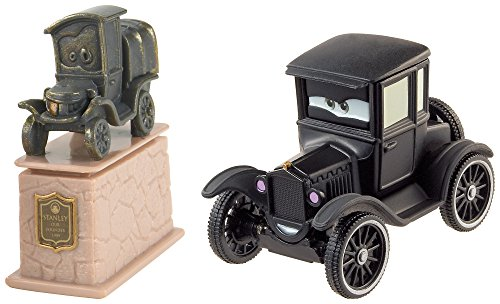 Mattel DHL17 – Véhicules Cars 2 Pack Stanley & Lizzie