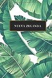 Nueva Zelanda: Cuaderno de diario de viaje gobernado o diario de viaje: bolsillo de viaje forrado para hombres y mujeres con líneas