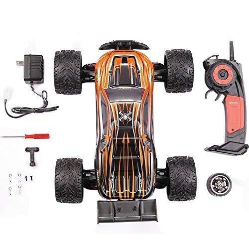 RC Auto kaufen Truggy Bild 6: MODELTRONIC Autoradio-Fernbedienung Truggy Scale 1/12 2,4G / Geschwindigkeit 40 km/h / LiPo-Akku enthalten / Car RC XINLEHONG GPTOYS S912 ferngesteuertes Spielzeugauto (Orange Truggy 9116)*
