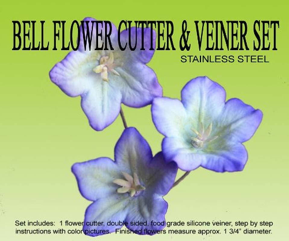 Bell Flower Cutter Veiner Set