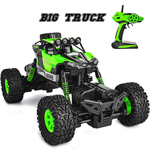 GotechoD RC Cars Waterproof RC Trucks 4x4 Off Road Monster Truck 1/16 4WD Remote Control Trucks RC Crawler High Speed RC Racing Cars Hobby Toys for 6-15 Years Old Boys Kids Adults Gift