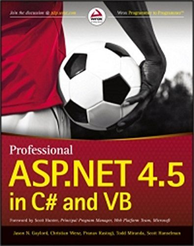 PROFESSIONAL ASP.NET 4.5 IN C# AND VB (English Edition)
