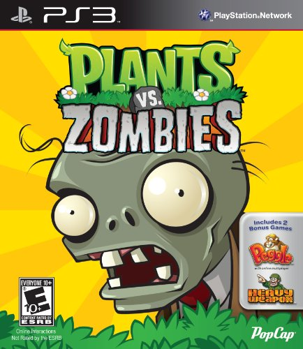 PopCap Plants vs Zombies, PS3 - Juego (PS3)