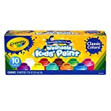 Crayola BIN541205BN Washable Kid's Paint, 10 Bottles Per Pack, 3 Packs