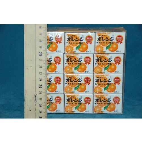 マルカワ オレンジマーブルフーセンガム (33個+当たり分3個)