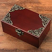 MODEBESO(TM) Clockwork Wooden Musical Boxes Jewel Box Melody Castle in the Sky Gift For Christmas/Birthday/Valentine's day