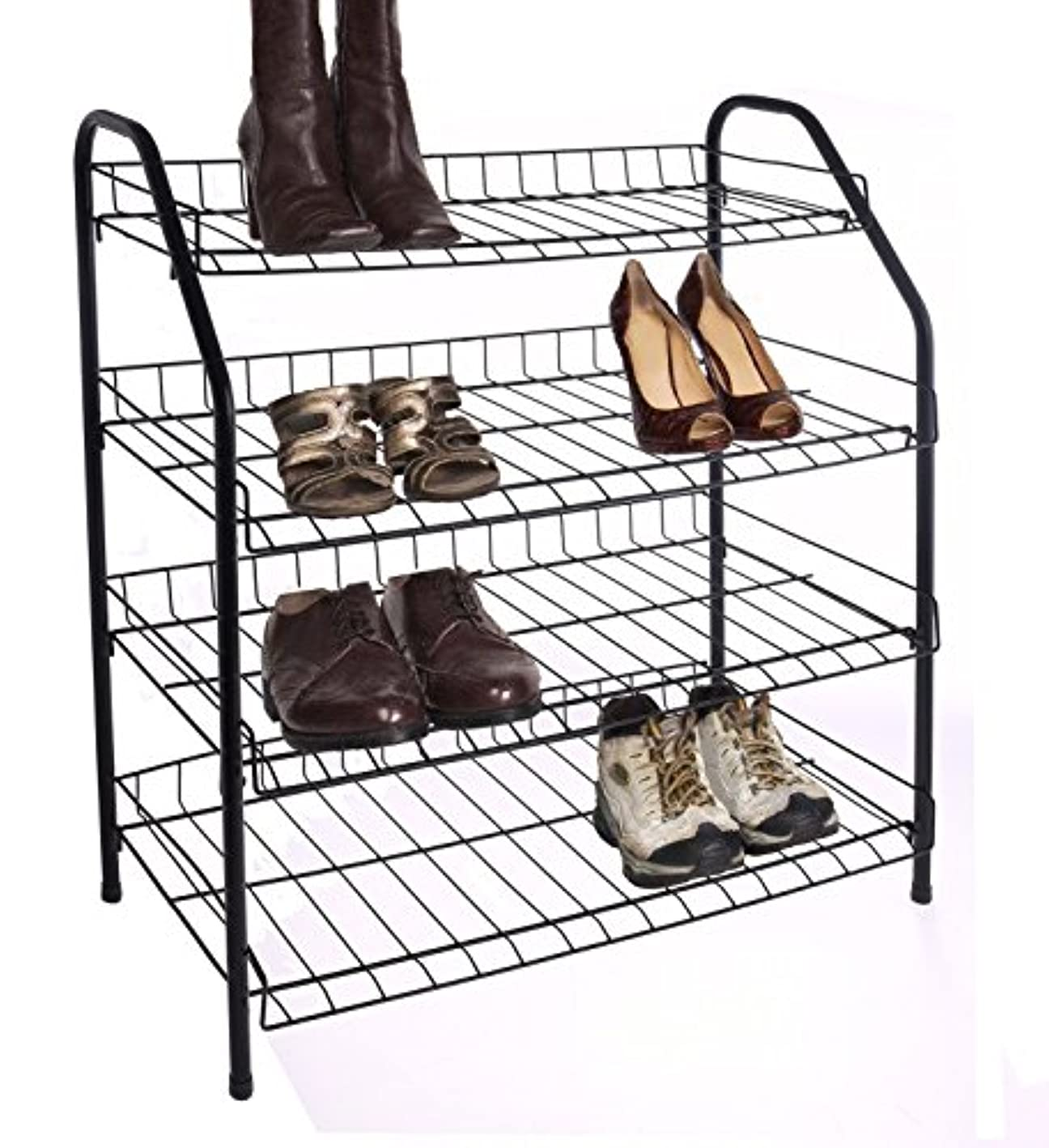 American Dream Home Goods Organizer 210-BK Shoe Rack Black