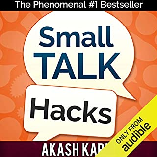 Small Talk Hacks audiobook cover art