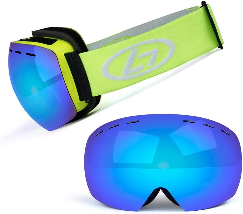 YHLL Skibrille, Outdoor Erwachsene Männer Und Frauen Skibrille Doppelte Anti-Fog Große Sphärische Adult Winddicht Und Anti-Fog Ski Brille B07MHTZQDM  Große Klassifizierung