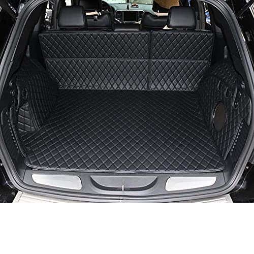 VastSea Kofferraummatten für Jeep Grand Cherokee Wk2 Leder Kofferraum-Matte Cargo Liner 2011 2012 2013 2014 2015 2019 Zubehör