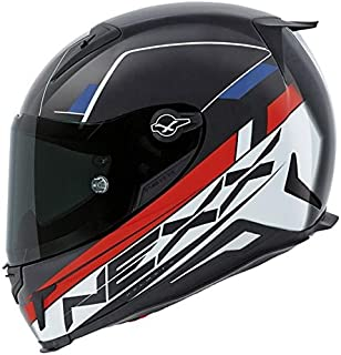 Nexx XR2 Fuel Full Face Helmet (X-Large, Red/Blue)