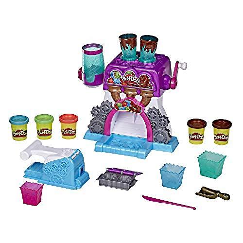 Play-Doh E9844 Kitchen Creations Bonbon-Fabrik für Kinder ab 3 Jahren mit 5 Farben