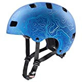 Uvex Fahrradhelme für Kinder, Blau, 55-58