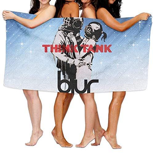 FSTGF Blur Think Tank Toalla de baño, Toalla de Playa/baño/Piscina 51.2