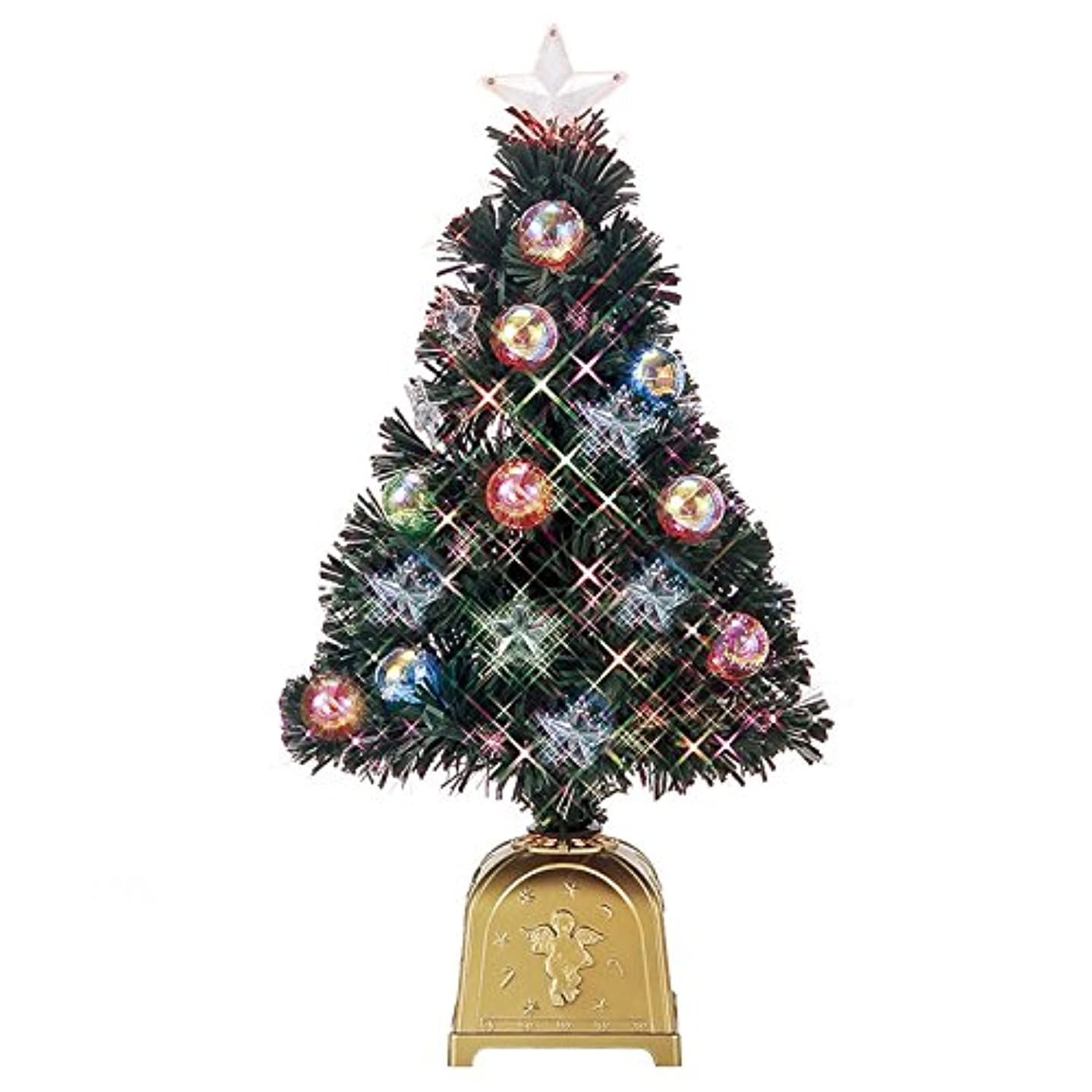実行可能不完全候補者フローレックス(FLOREX) クリスマスツリー ニューファンタジーボール スターグリーンファイバーツリー 高さ60cm FX-5251