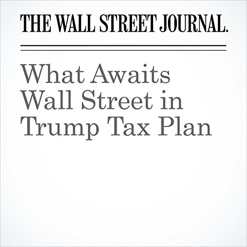What Awaits Wall Street in Trump Tax Plan copertina