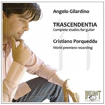Gilardino: Trascendentia, Complete Studies for Guitar