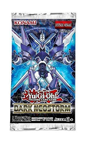 Unbekannt YuGiOh - Dark Neostorm - 1 Booster Pack - Deutsch - 1. Auflage