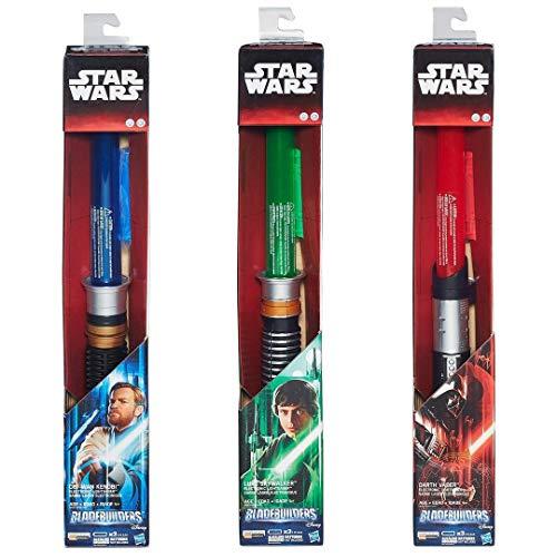 Hasbro B2919EU4 - Star Wars E7 elektronisches Lichtschwert, sortiert
