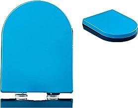 NYDZDM - Toilet Seat U-vorm universele wc-deksel deksel met verstelbare lengte dempen eenvoudig te installeren stille eenv...