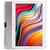 Tablet PC, Veidoo 10.1' Tablet, Premium 2.5D IPS Screen, Type C Charge Port, Android, WiFi/GPS/OTG, 3G Phablet with Dual Sim Card Slots, 2GB Memory, 32GB Storage, Ideal Gifts (Silver)