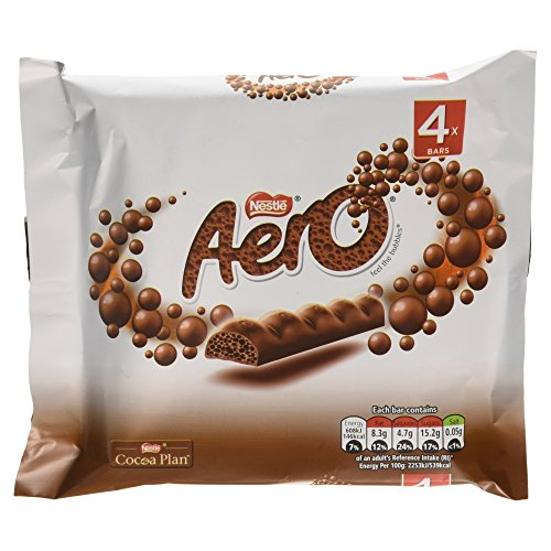 Aero Milk Bubbly Bar Multipack 4 x 27g
