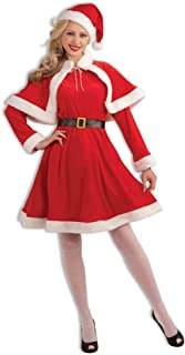 Forum Novelties Women's Sweet Miss Santa Suit Costume