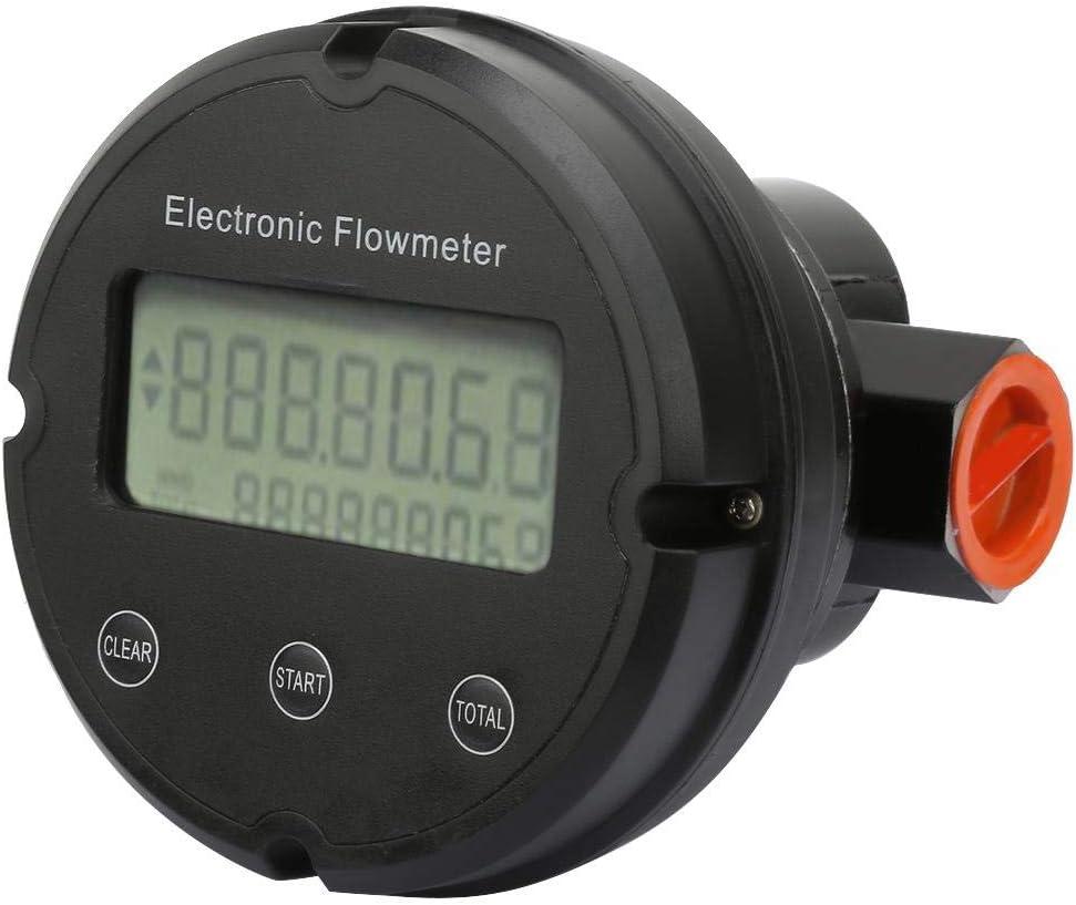 G1'' Gear Luxury Miami Mall goods Fuel Flow Meter Diese Turbine Flowmeter