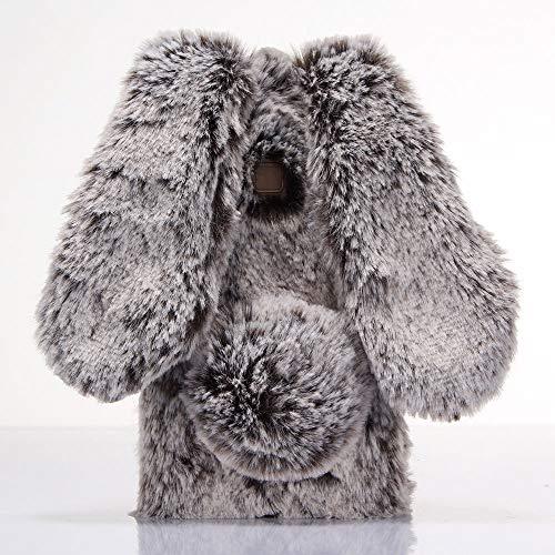 ZYQ Fashion 3D Hase Handy Tasche Schütz Hülle Gel Hülle Für Alcatel One Touch Pop Star 4G 5070D TPU Silikon Abdeckung Cover Etui Braun