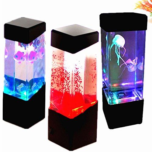 Aquarium Kwaliteitslamp, 1 stuks aquarium led-knallamp met meerkleurige glans voor kinderen mannen vrouwen Home decoratieve verlichting ruimte sfeerlicht om te ontspannen