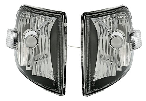 AD Tuning GmbH & Co. KG 960420 Frontblinker Set, Klarglas Schwarz